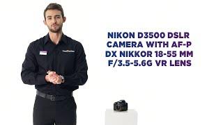 Nikon D3500 DSLR Camera with N…