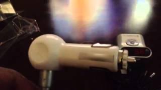 flex smart x3 on my bmw e46 in car fm transmitter bluetoo