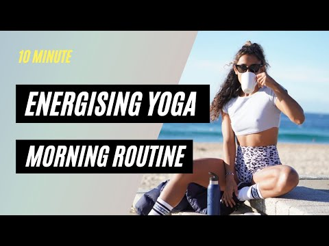 10 MINUTE ENERGY BOOSTING STRETCH | FULL SEQUENCE | Shona Vertue