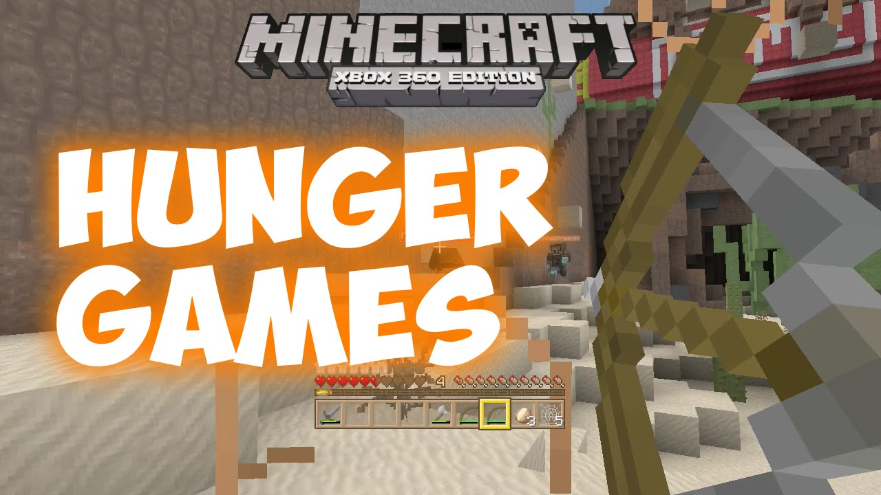 Xbox 360 Hunger Games : Minecraft xbox beep hunger games yolft you
