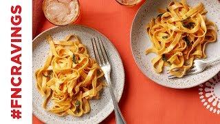 Pumpkin Pasta with Sage Butter   Food Network