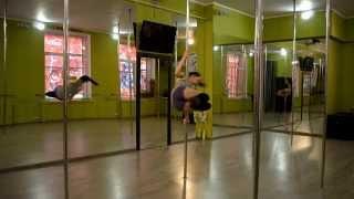 Видео уроки POLE DANCE пол дэнс (проект RPD Strekoza) выпуск № 4