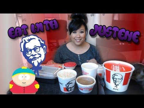 KFC | mukbang (ASMR)
