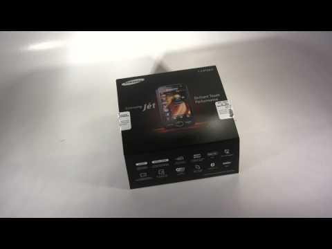 Samsung Jet S8000 Teil 1 - Packungsinhalt (Deutsch, HD)