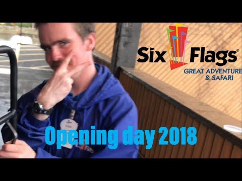 Six Flags Great Adventure Opening Day 2018 Vlog