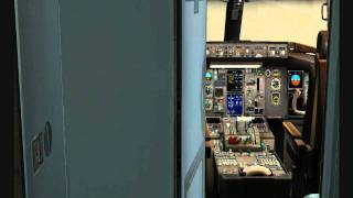 Captain Sim 757 Flight (Vatsim) Part 1