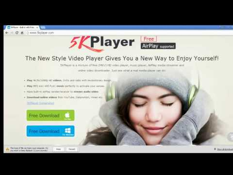 5K Player REVIEW - FREE Video/Music Player, Better Than VLC Player P1