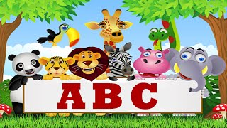 ABC ANIMALS SONG FOR CHILDREN - Music for Kids - Baby Learning Songs MyTub.uz