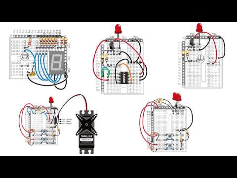 How to Wire Circuits from Schematics