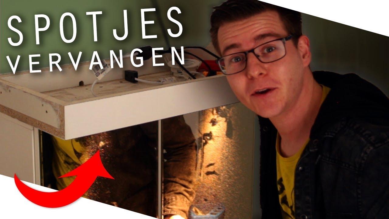 Badkamer Spotjes Vervangen Voor Led Tips Trucs Davey Raaijmakers Youtube