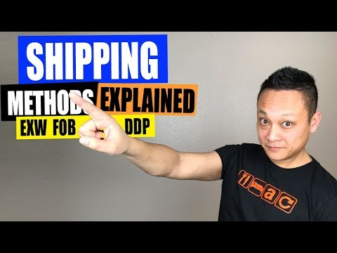 How to Ship Products from China to Amazon | Shipping Terms Explained