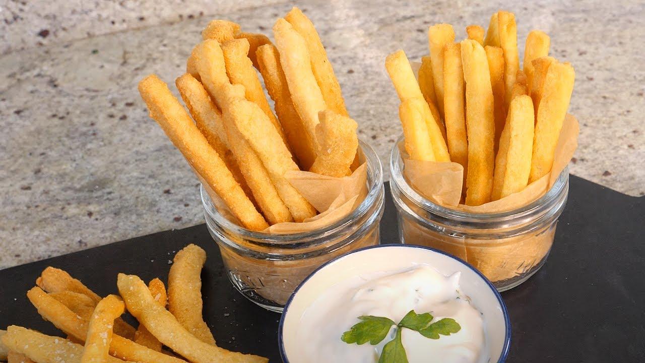 How to make keto French fries | Keto vegan gluten-free