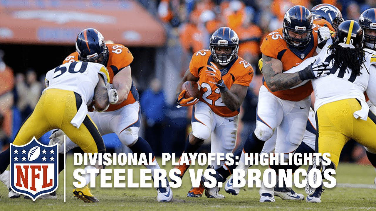 Denver Broncos in the AFC Divisional Playoffs