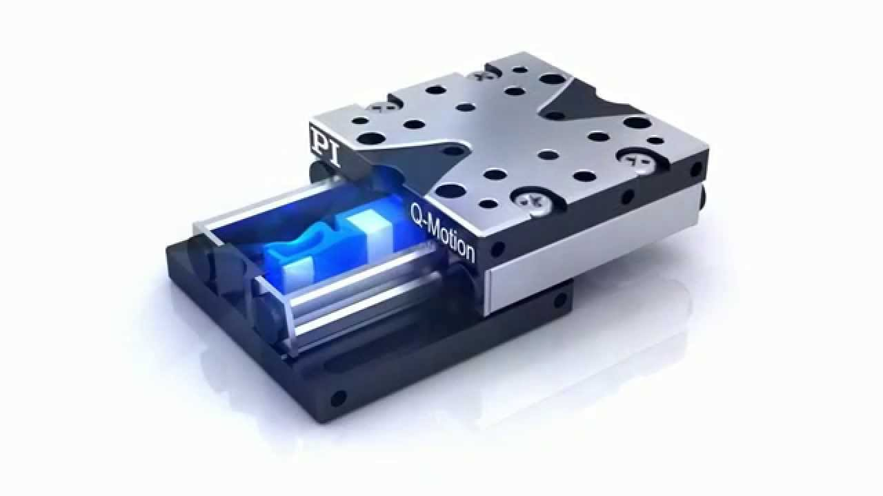 Miniature Linear Stage Precision Positioner With Piezo