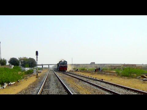 Pakistan Railways Ever Best Karakoram Express, In Full Flow