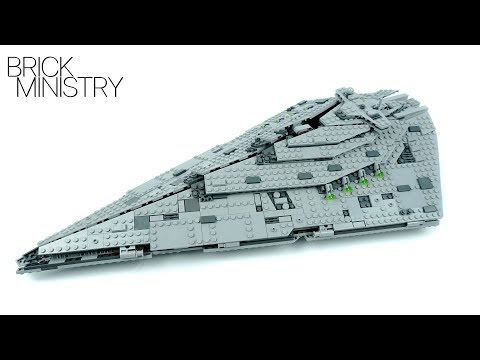 LEGO 75190 Star Wars ● FIRST ORDER STAR DESTROYER
