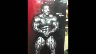 Abbas agheli world champion
