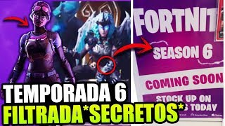FORTNITE ERROR FILTERS SEASON 6 *SECRETS* [THEORIAS] FORTNITE BATTLE ROYALE