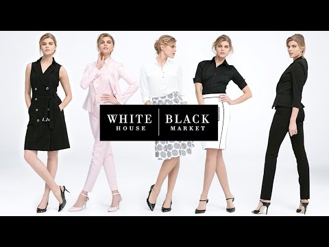 Work Mastered:  The New Work Collection From White House Black Market