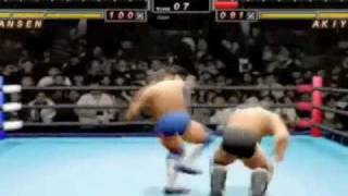 All Japan Pro Wrestling Featuring Virtua Sega Saturn Gameplay Video