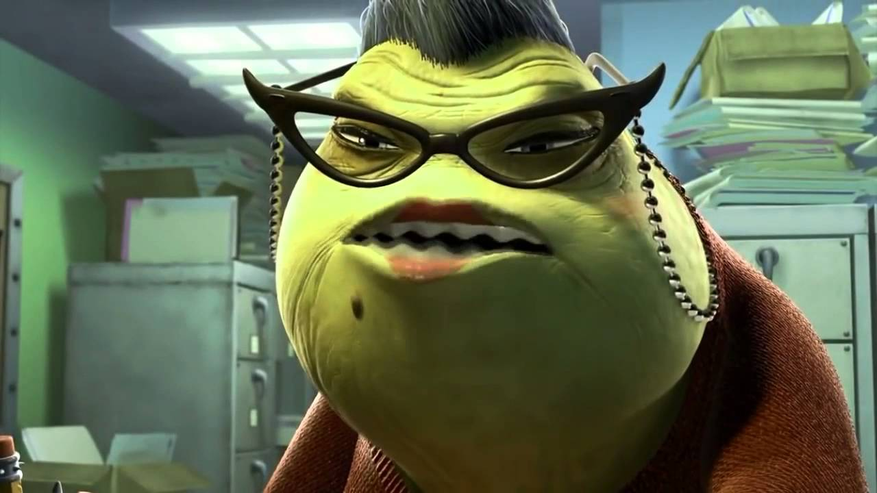 Uncategorized Roz From Monsters Inc monsters inc paperwork youtube paperwork