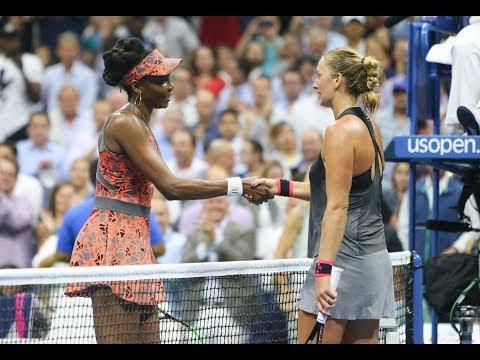 Venus Williams edges Kvitova for 1st US Open semifinal since 2010