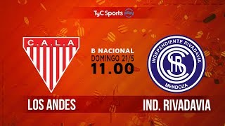 Los Andes vs Independiente Rivadavia full match
