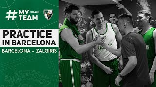 Zalgiris checks in to practice in Barcelona