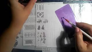 видео Тренировочные карты для маникюра: рисуем кружева!