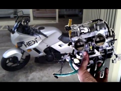 step by step ninja carburetor overhaul