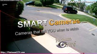SMART HD IP Cameras for Business - Receive Intelligent Alerts