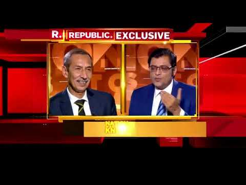 Nation wants to know with surgical strikel interview||Arnab Goswami Nation wants to know
