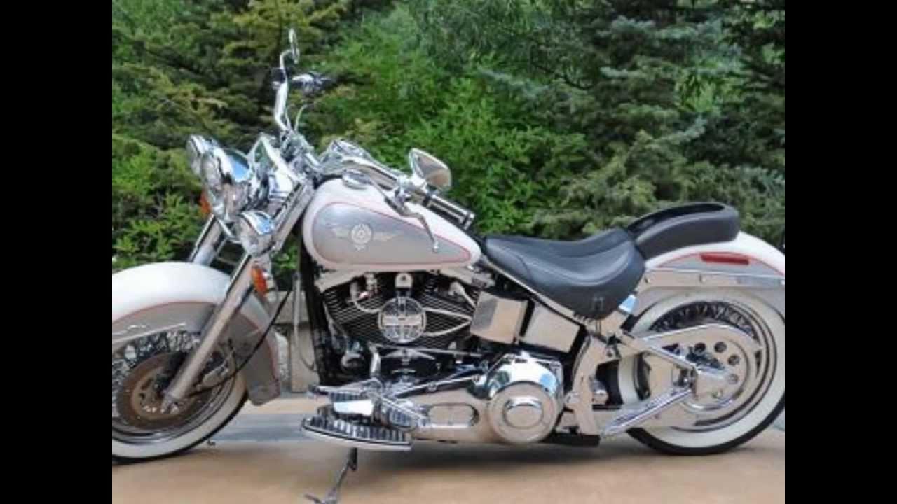 Harley Davidson Flstn Heritage Softail Nostalgia
