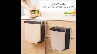 Foldable Hanging Trash Can