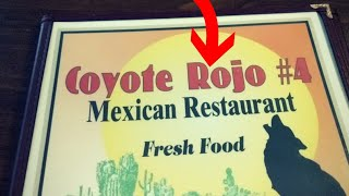 Eating more Mexican Food in Spring Hill FL | Coyote Rojo #4