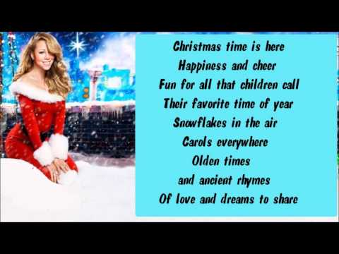 Mariah Carey - Charlie Brown Christmas + Lyrics