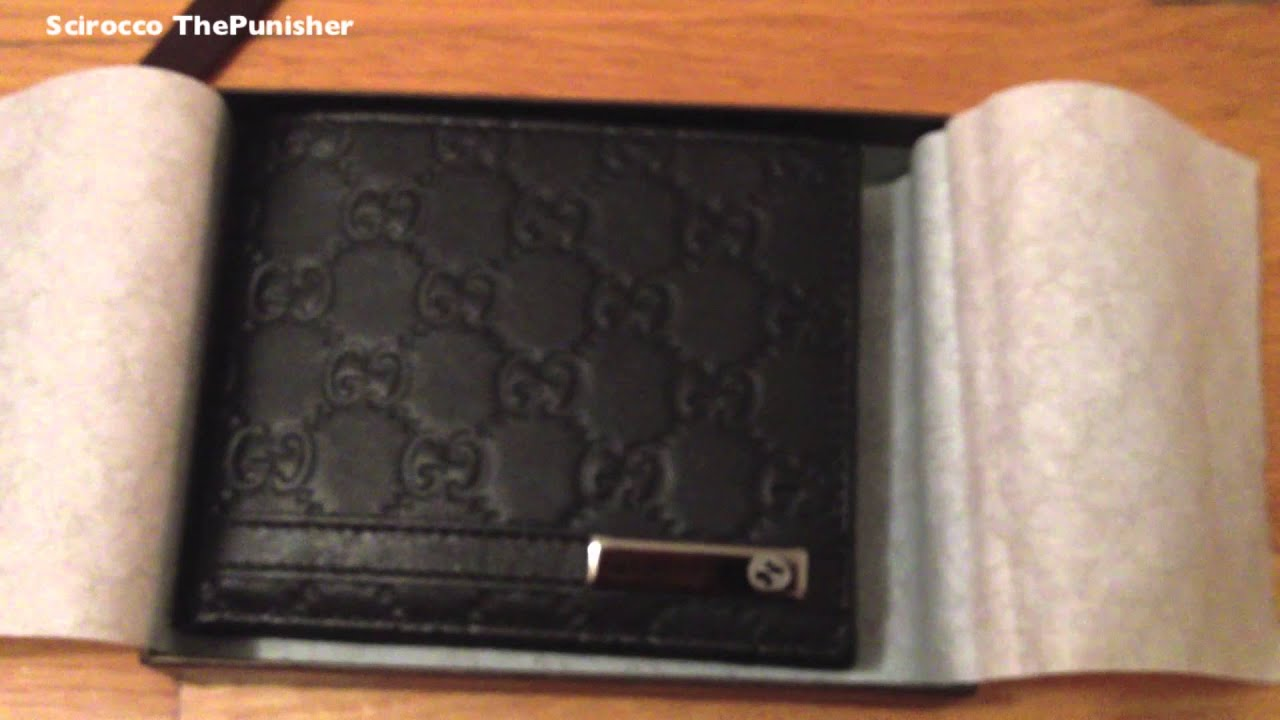 78f8f95f32 Gucci Men's Wallet Unboxing [HD] - YouTube