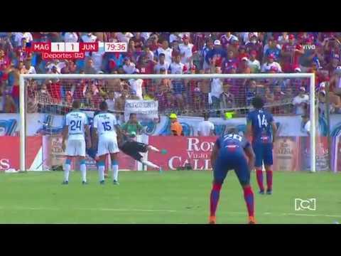 Unión Magdalena 1-1 Junior: Gol Ricardo Márquez I Deportes RCN