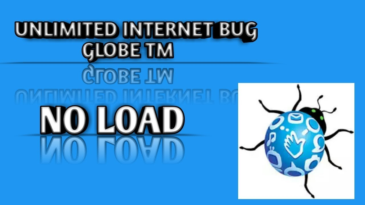 Unlimited internet globe tm bug