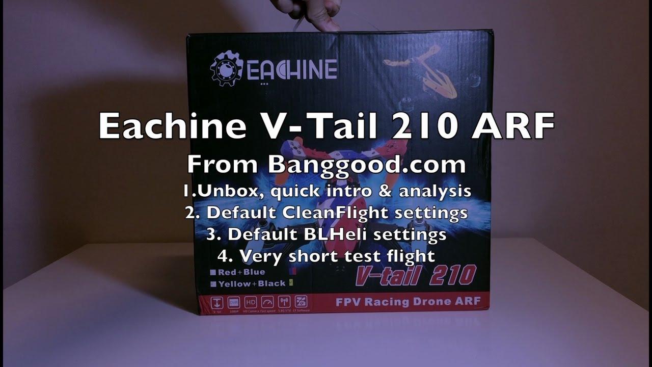 Eachine V-Tail 210 ARF Review