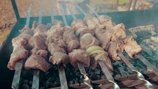 ШАШЛЫК КРЫМСКИЙ РЕЦЕПТ. Как приготовить вкусный и сочный шашлык. Как мариновать мясо