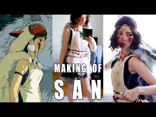 Making Of San Cosplay Princess Mononoke Eng Subs Available