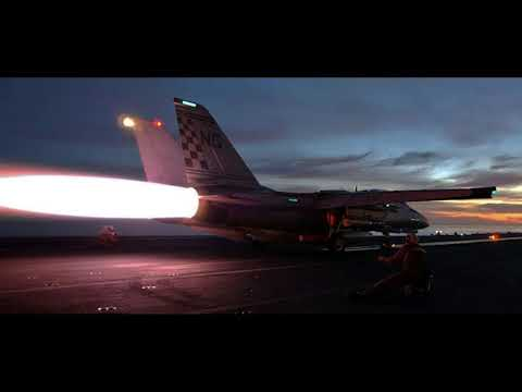 Air Combat ( Radio only ) F-14 Tomcat vs.  MiG-23 1989