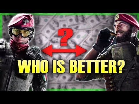 ALIBI VS MAESTRO Which Operator Should You Get First? Rainbow Six Siege