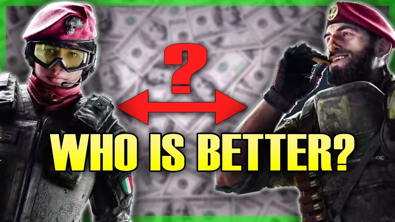 fc646f06f7581 ALIBI VS MAESTRO Which Operator Should You Get First  Rainbow Six Siege