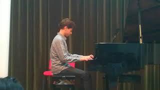 """Concert Piano Yanis (le retour) : Ludwig van Beethoven """"Für Elise"""" 15/12/2017"""