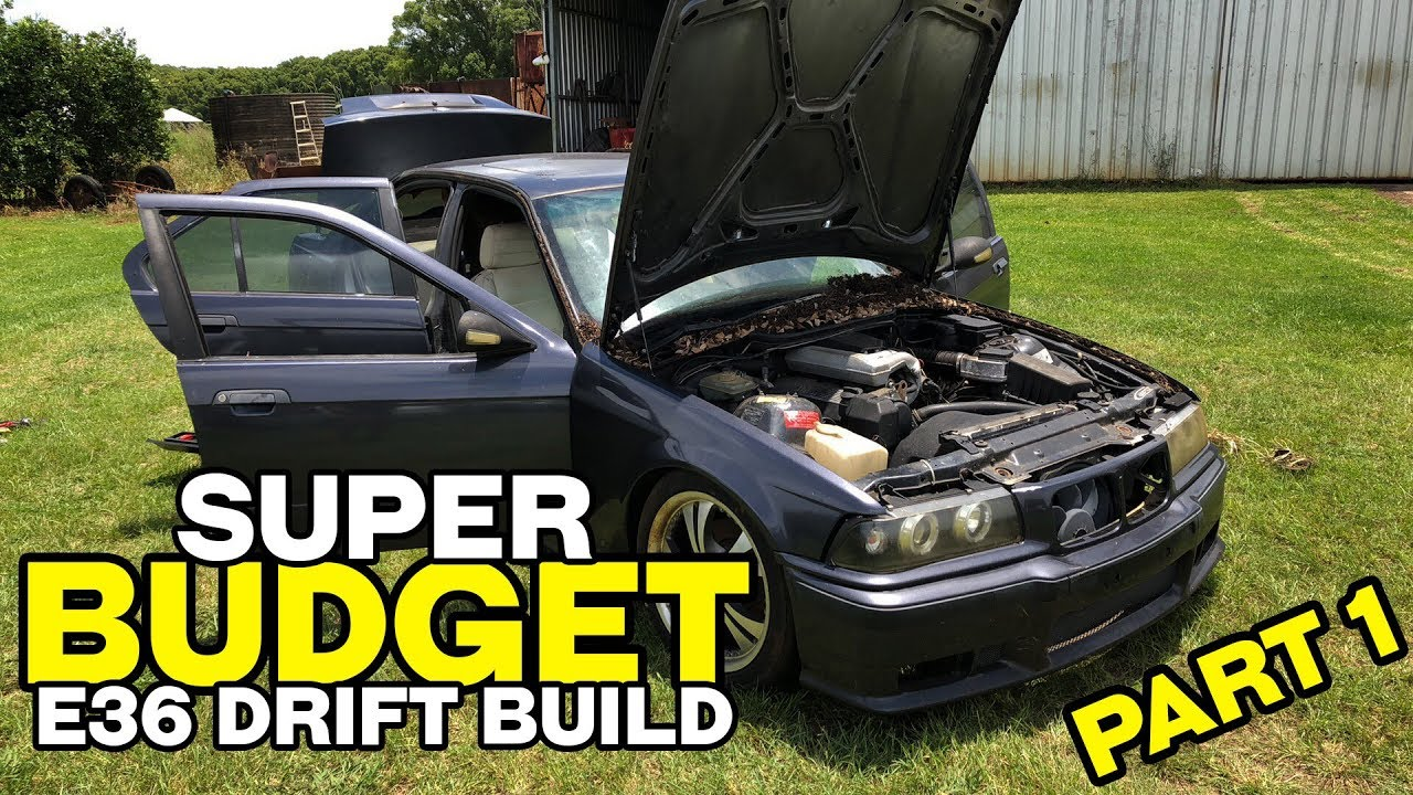 Super Budget E36 Drift Car Build Part 1 Youtube
