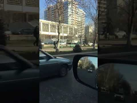 Кандидат на пост мэра Махачкалы Салман Дадаев прогулялся по центру города
