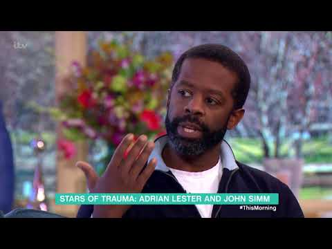 Adrian Lester and John Simm Chat About 'Trauma' | This Morning
