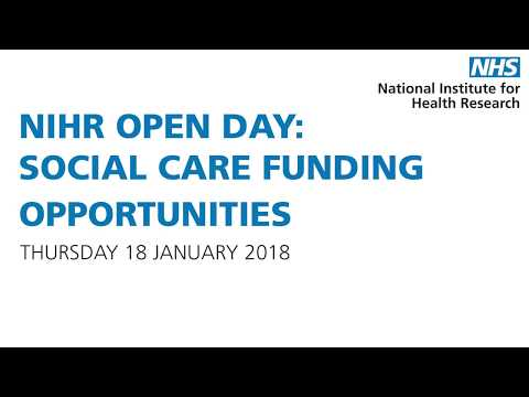 NIHR Central Commissioning Facility - Ben Morgan